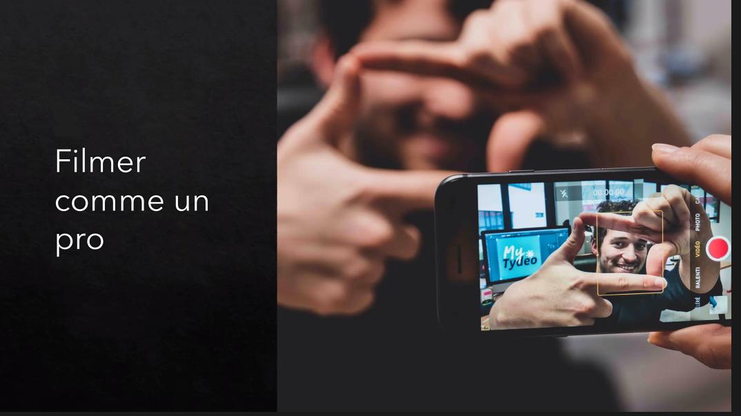 """Filmer avec son smartphone"""