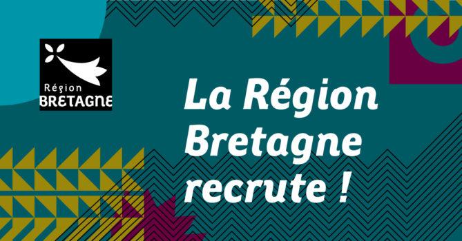 Recrutement de la région Bretagne